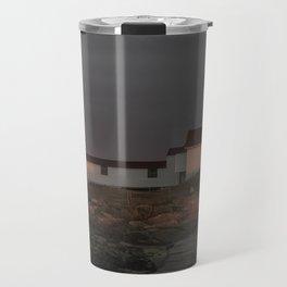 Eastern Point Lighthouse at sunset Travel Mug