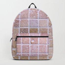 Travertine Squares Backpack