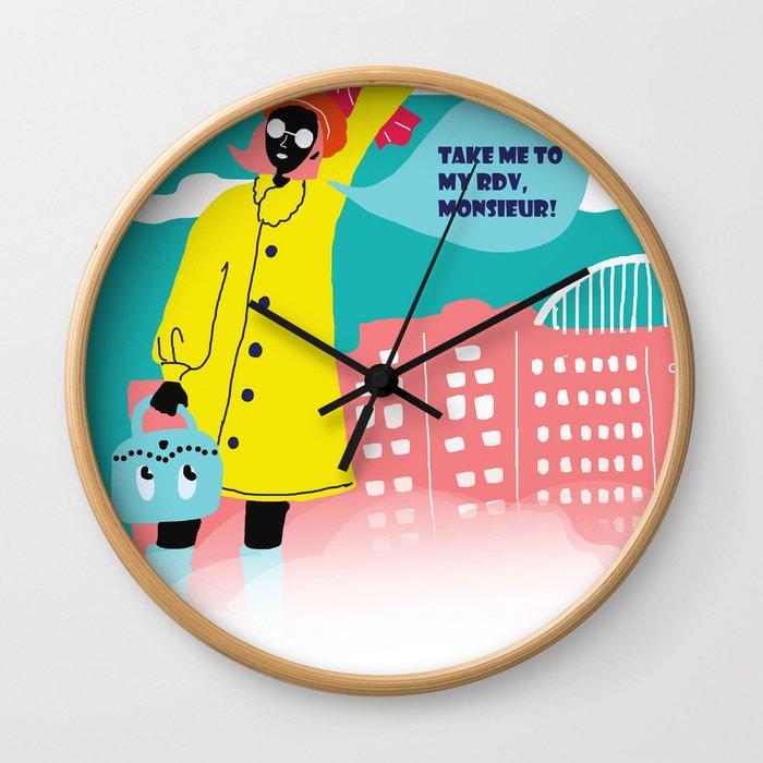 Rendez-vous Wall Clock