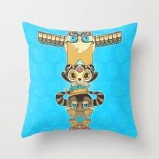 RUFUS TOTEM Throw Pillow