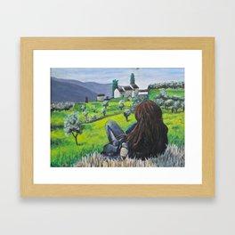 Tuscan Day Dream Framed Art Print