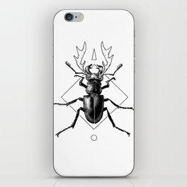 Stag Beetle iPhone Skin