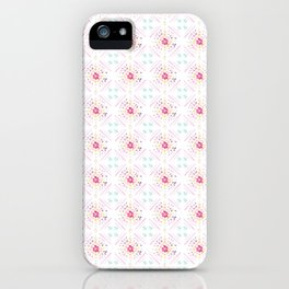 Global Motif in Pink iPhone Case
