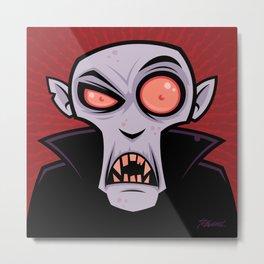 Count Dracula Metal Print