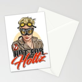 Hot for Holtz Stationery Cards