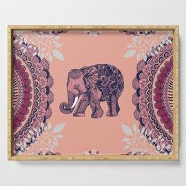Bohemian Elephant Serving Tray