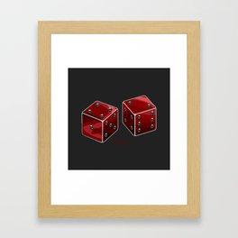 I Want ISK Dice Framed Art Print