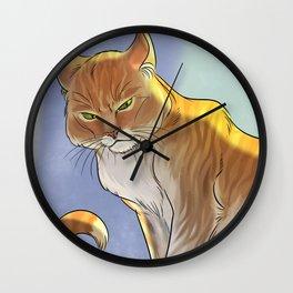 Royal Cat Wall Clock