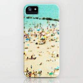 Coney Island Beach 2 iPhone Case