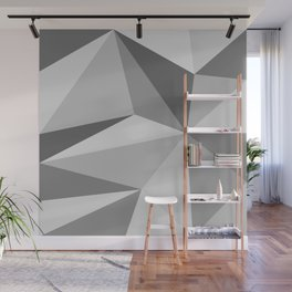Different shades of Grey Wall Mural