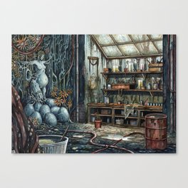 The Brood Canvas Print