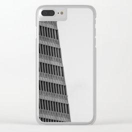 The Transamerica Building Clear iPhone Case