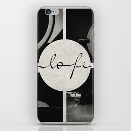 Lo-Fi // Analog Zine iPhone Skin