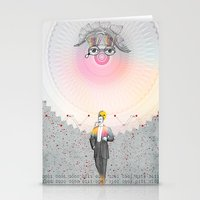 """architect Stationery Cards featuring """"The Big Architect"""" by Alessandro De Vita"""