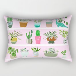 Shelfie cactus print Rectangular Pillow