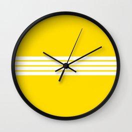 Shigenobu - Classic Retro Stripes Wall Clock