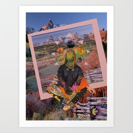 Gypsy Slasher Art Print