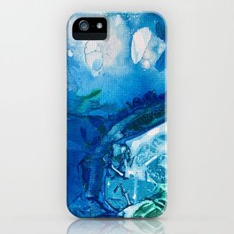 Deep Blue Ocean Life iPhone Case