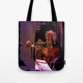 Trumpet Music Tote Bag