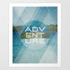 Adventure Is Waiting Art Print