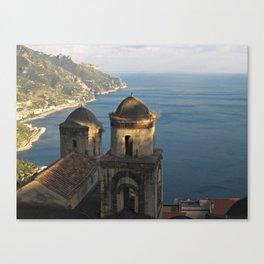 San Pantaleone Church In Ravello Canvas Print