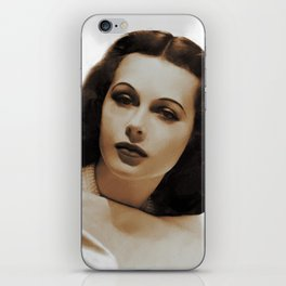 Hedy Lamarr, Hollywood Legends iPhone Skin