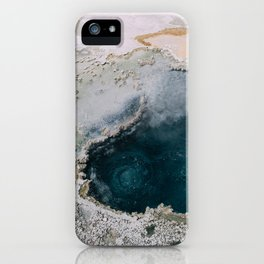 Geothermal in Yellowstone iPhone Case