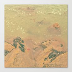 The California Summer Series // Rocks Canvas Print