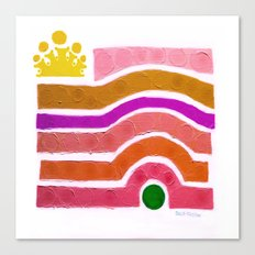 :: Princess n' Pea :: Canvas Print