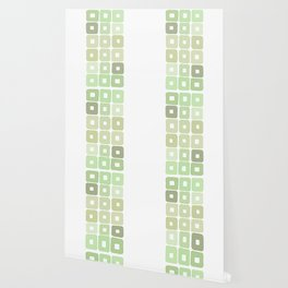 Squared Mint Green & Co Wallpaper