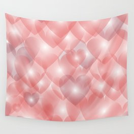 Hearts Aglow Wall Tapestry