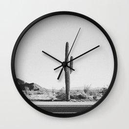 DESERT CACTUS IV Wall Clock