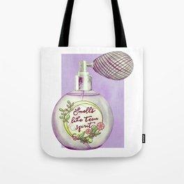 Teen Spirit Perfum Tote Bag