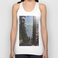 Phantom Ship Island Unisex Tank Top