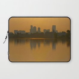 Come Sit With Me At Sloan Lake Downton Denver Colorado Laptop Sleeve