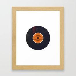 Vinyl Record Art & Design | World Post Framed Art Print