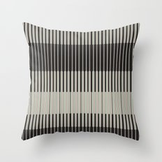 Piano Man | Abstract Pattern Throw Pillow