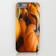 Vector Style Harvest Of Pumpkins Slim Case iPhone 6s