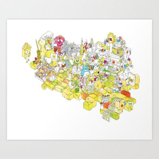 Get Crafty! Art Print