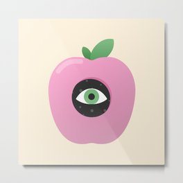 Forbidden Fruit Metal Print