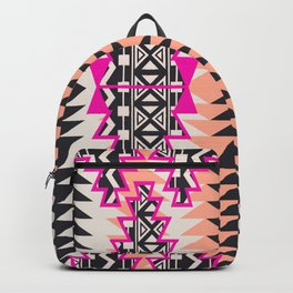 Tribal Beat Geo Magenta Backpack