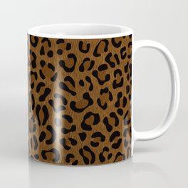 Leopard Print - Dark Coffee Mug