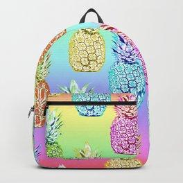 Pineapple Rainbow Backpack