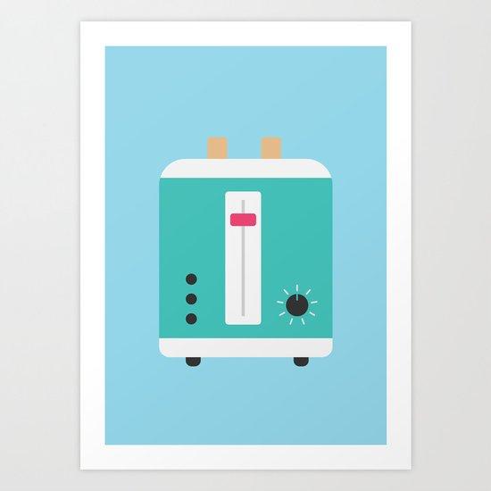 #82 Toaster Art Print