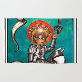 Joan of Arc Rug