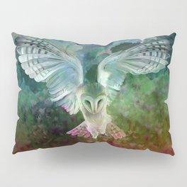 """Owl flight and spring night"" Pillow Sham"