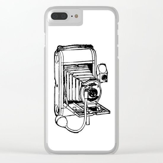 Camera. Clear iPhone Case