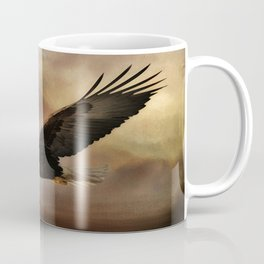 Eagle Flying Free Coffee Mug