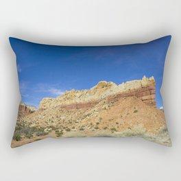 Ghost Ranch Peak Rectangular Pillow