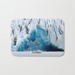 Ride to the Alaskan Glacier Bath Mat